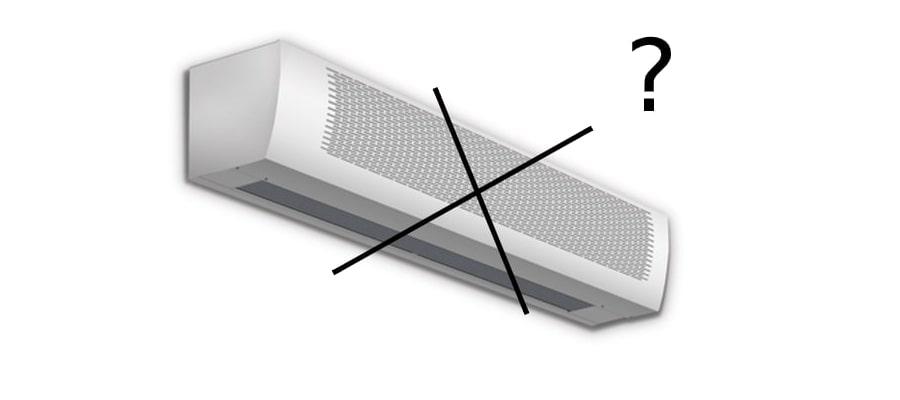 Чем заменить тепловую завесу?