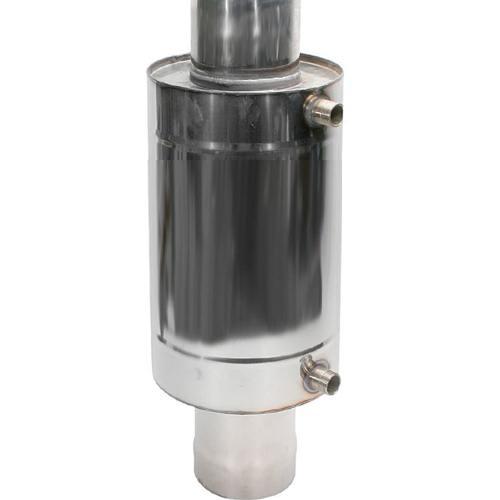 Бак для бани 6 л регистр (на трубе диаметром 150 мм)