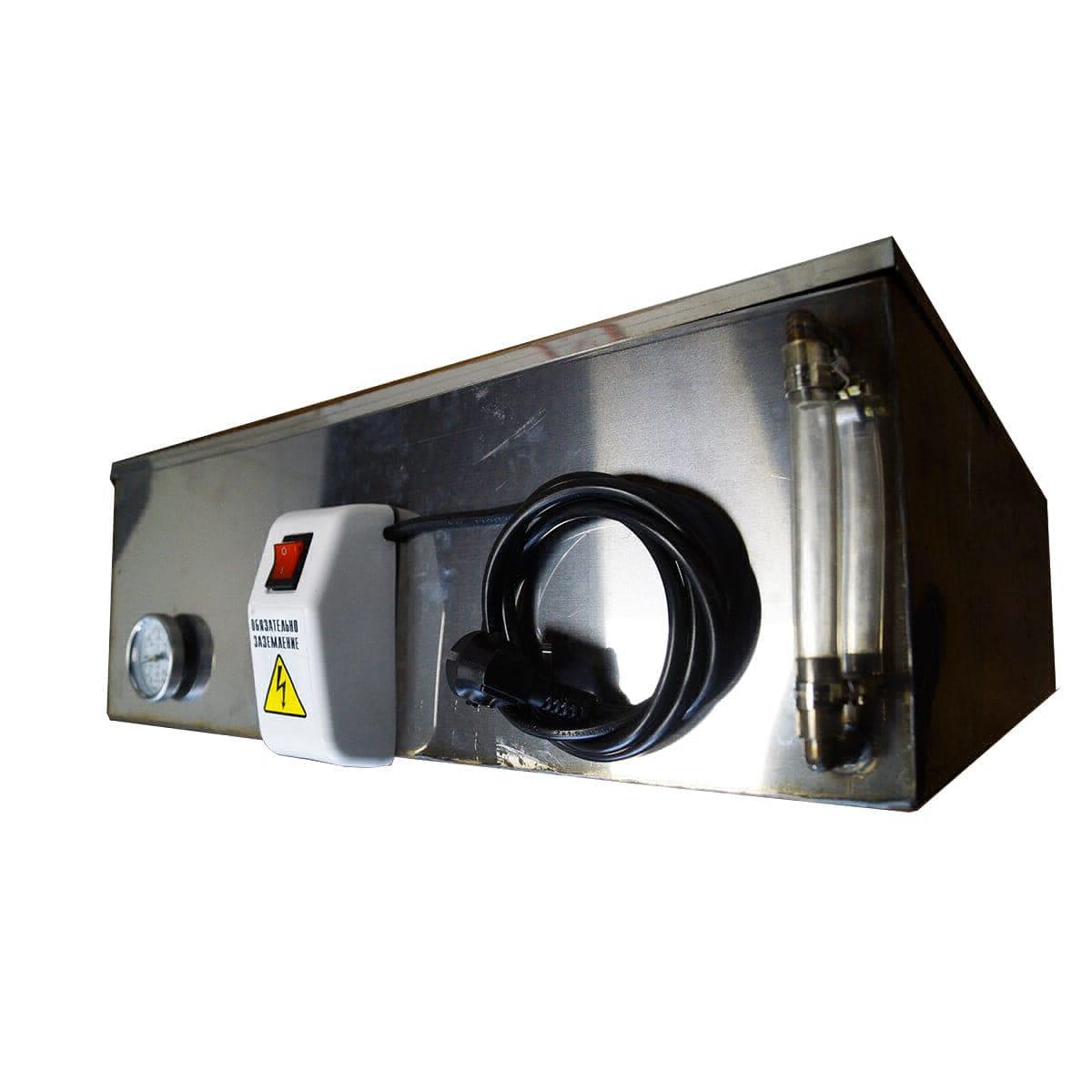 Бак для душа Успех 85 л, с подогревом, 1,5 кВт (с термометром и уровнем воды)