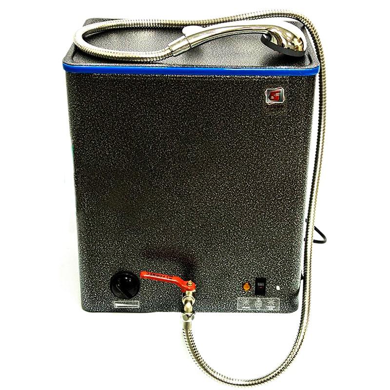 водонагреватель наливной с душем