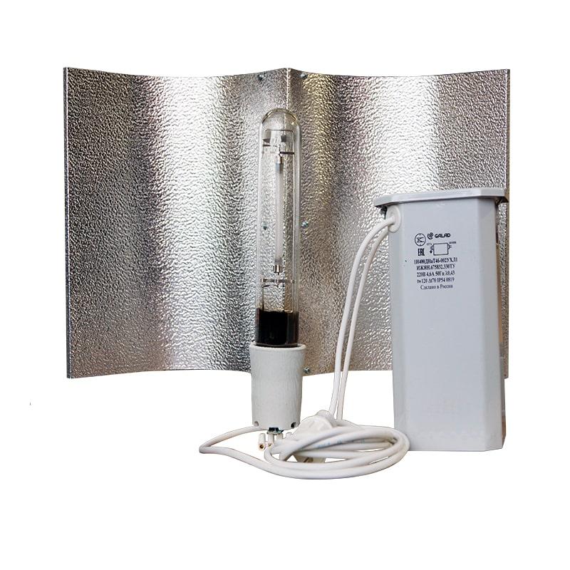 Комплект ДНаТ 400 Вт с лампой и отражателем