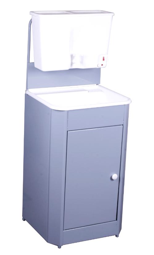Умывальник дачный с подогревом Универсал, цвет серый (пластик)