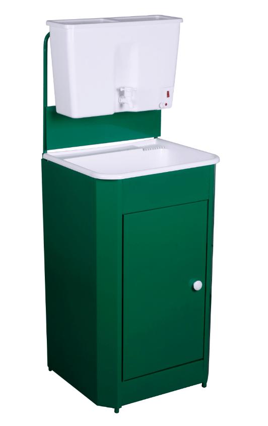 Умывальник дачный Универсал, цвет зеленый (пластик)