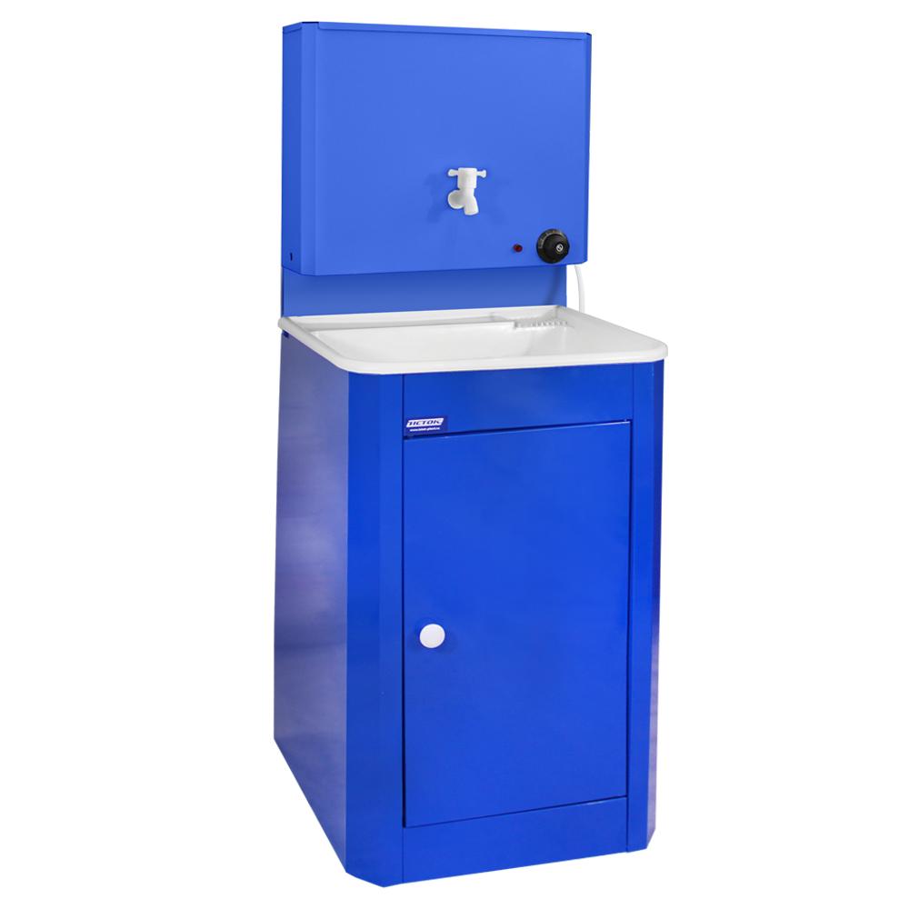 Умывальник дачный с подогревом ИСТОК, цвет Синий (мойка пластик)