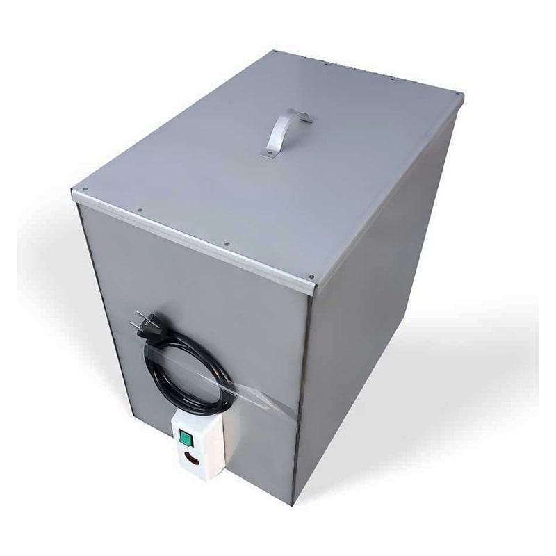 Бак Успех с подогревом 80 л, 2.0 кВт [фикс. нагрев 60 ℃] 500x330х500 мм,