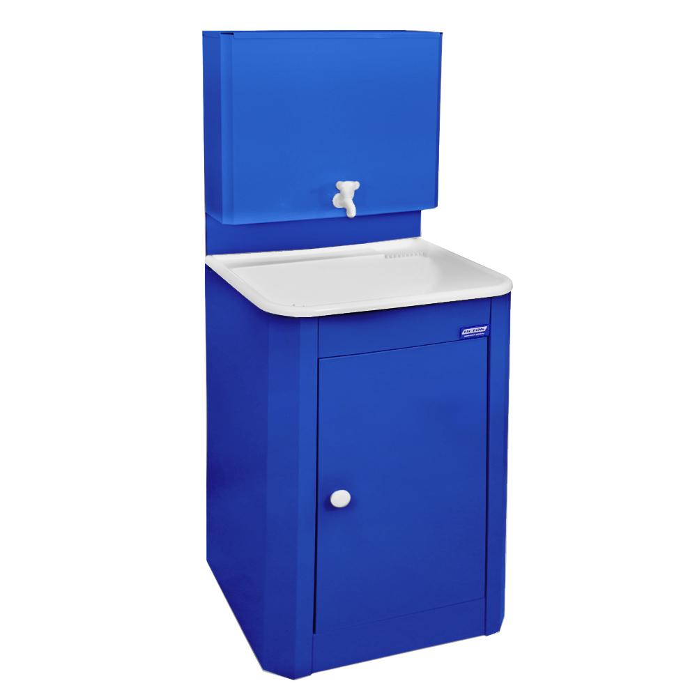 Умывальник дачный  ИСТОК, цвет синий (мойка пластик)