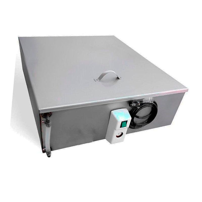 Бак для душа Успех 80 л, с подогревом, 1,5 кВт с терморегулятором и уровнем воды