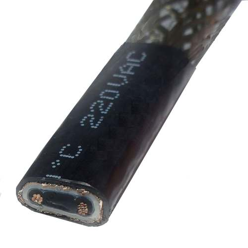 Саморегулирующийся греющий кабель GRX-2CR 40W (защита кровли)
