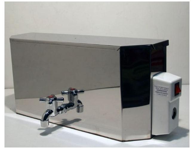 Водонагреватель Успех 15 л, 1.2 кВт [фикс. нагрев 45 ℃] 240х500х140 мм,