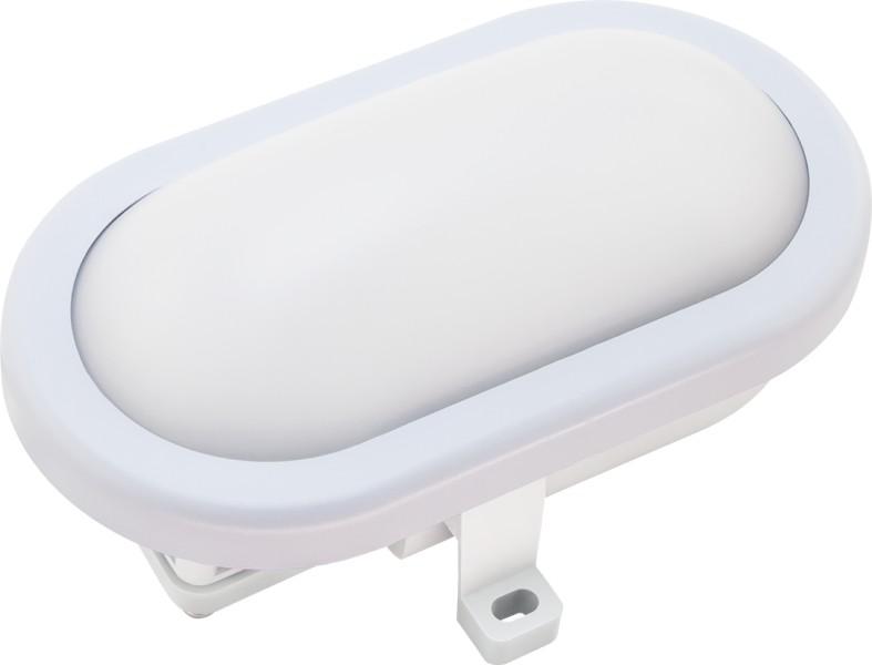 Светильник светодиодный ДБП-8Вт 600Лм Jazzway овальный IP65