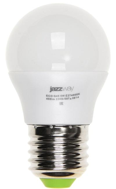 Лампа светодиодная LED 5вт 220в Е27 G45
