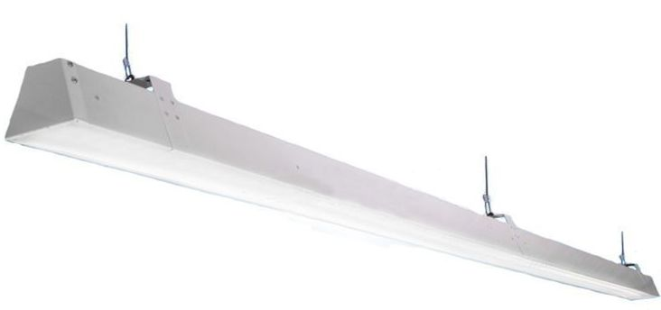 Торговый модульный светодиодный светильник ритейл 56Вт 6700Лм