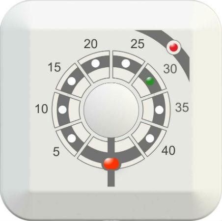 Терморегулятор ТР-01 для теплого пола с защитой от детей