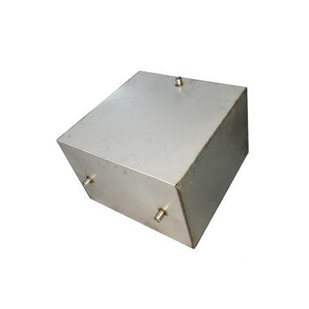 Бак накопительный с подогревом 80 л. 2.0 кВт (500x330х500 мм) для регистра