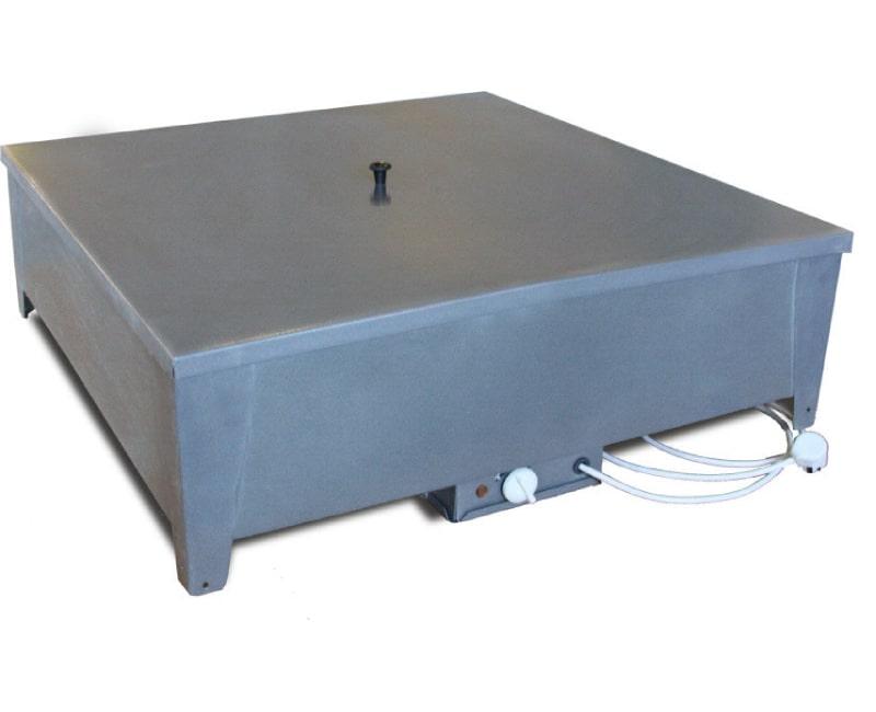 Бак для душа Электромаш с подогревом, 128 литров