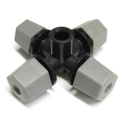 Туманообразователь 4 сопла, 26,4 л/ч (серый), MJ1302