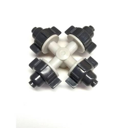 Туманообразователь 4 сопла, 32,0 л/ч (серый)