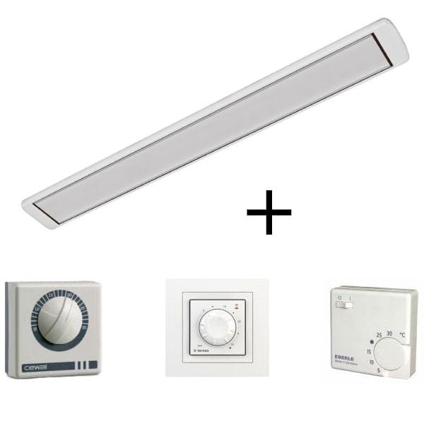 Алмак ИК 13  (1300 Вт) Белый c терморегулятором