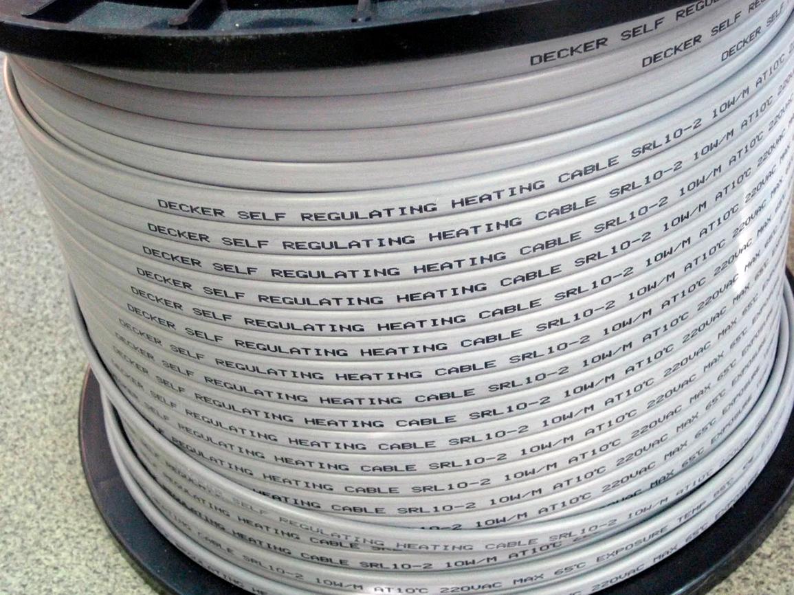 Кабель греющий SRL 10-2, 10 Вт/м