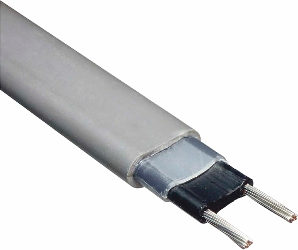 Неэкранированный греющий кабель Decker SRL 40-2, 40 Вт/м