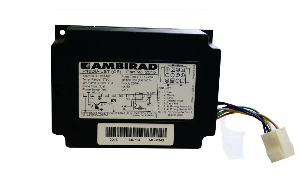 Блок управления горением  P16DIA-JST AMBIRAD