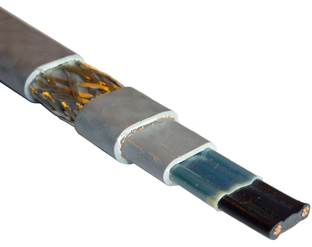 Саморегулирующийся греющий кабель SRL 24-2CR, 24Вт/м