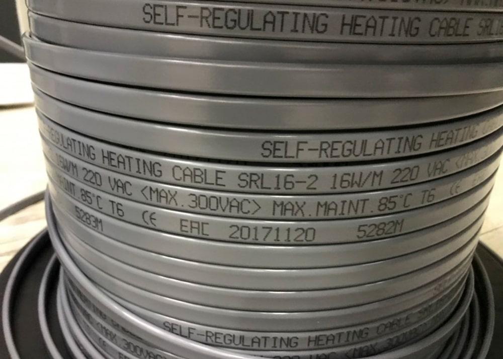 Греющий кабель SRL 16-2