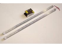Комплект из двух светодиодных светильников длинной 60 см